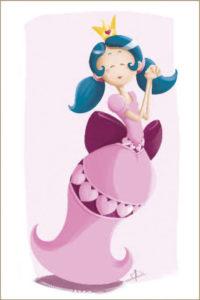 Carte postale Reine des Cœurs